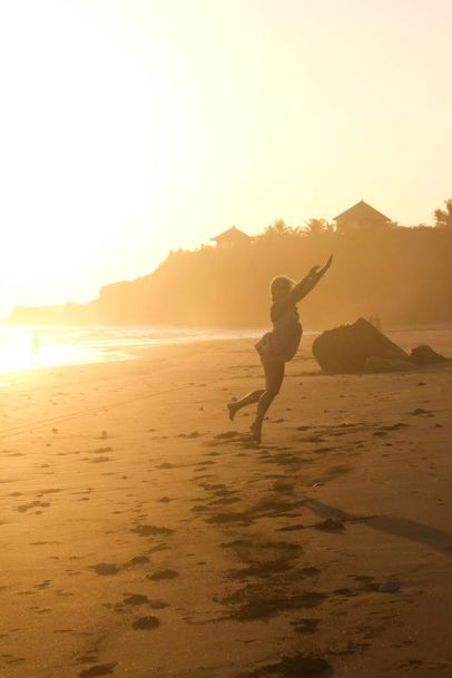 Watch sunset & never grow up, Medewi, Bali/Indonesia, 2012