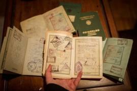 Passports of my grandpa