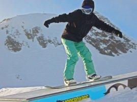 Learn to snowboard, Stubai Zoo