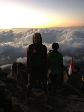 Climb an active volcano, Mount Agung, Bali/Indonesia 2012